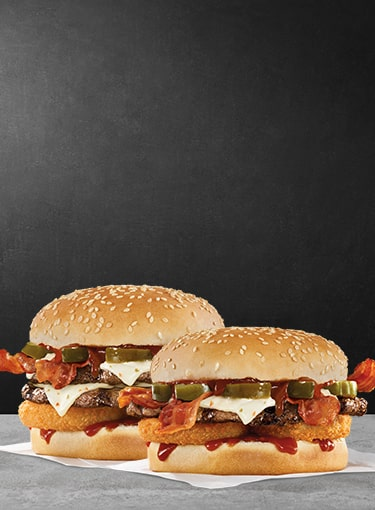 Spicy Western Bacon Cheeseburgers®