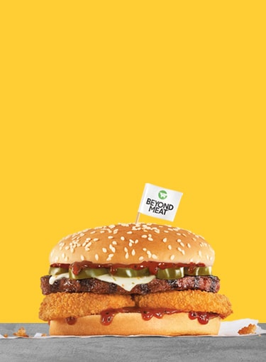 Spicy Beyond BBQ Cheeseburger®